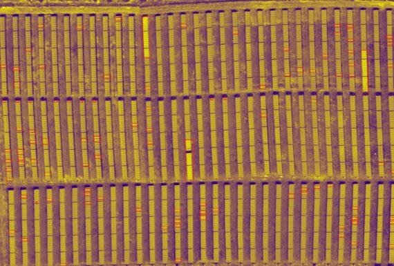 Εναερια θερμογραφηση φωτοβολταϊκων πανελ – Drone IR Test