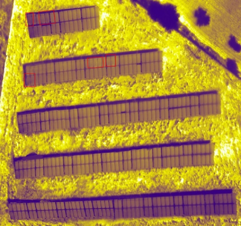 Μολαοι 03 - Εναερια θερμογραφηση φωτοβολταϊκων πανελ